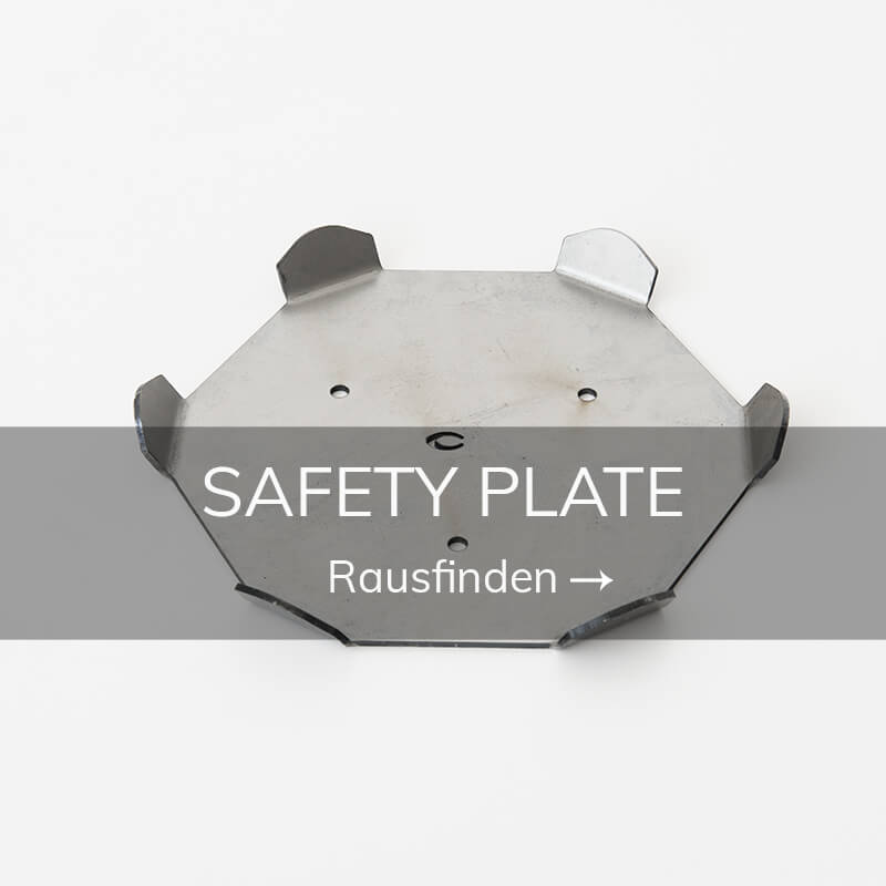 Poledance ausrustung safety plate